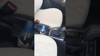 Видео обзор авточехлов из экокожи на Hyundai Creta! Хендай крета! Двойной 3D ромб 6см \