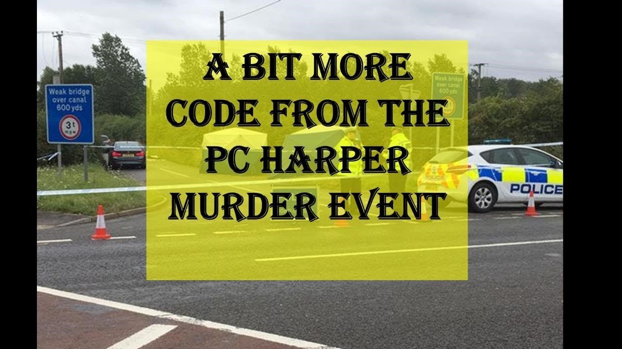 A Little More Code From The PC Harper Murder Incident