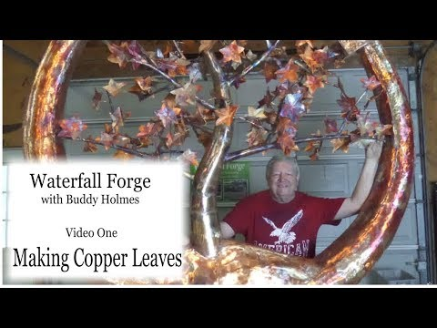 Making Copper Leaves