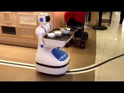 restaurant service robot doovi. Black Bedroom Furniture Sets. Home Design Ideas