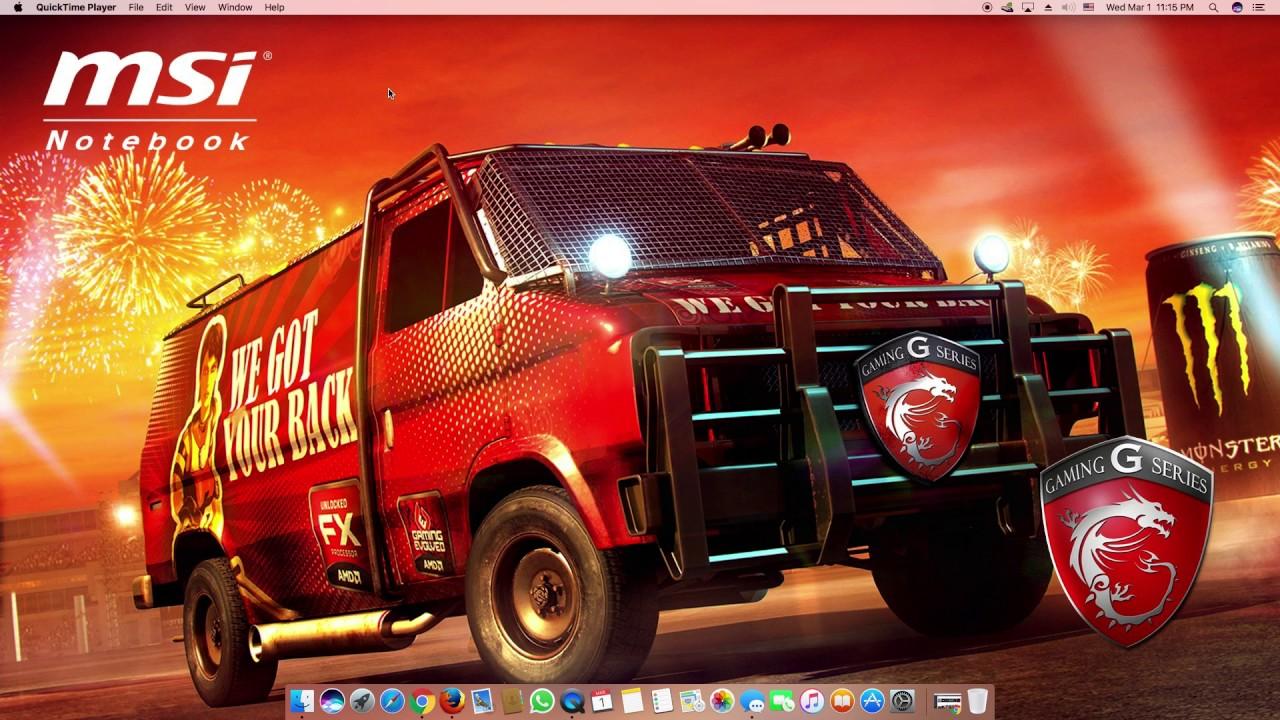 Hackintosh 2017 Laptop MSI GP70 2PE Leopard , works perfectly!!