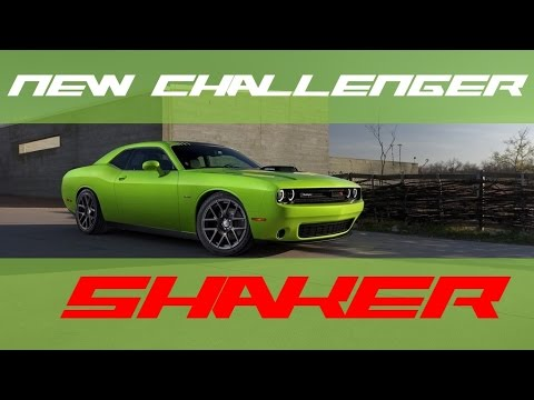 Challenger 2016 Green 2016 Challenger Shaker | New
