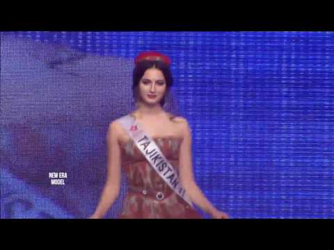 NEW ERA Model Tajikistan at Miss SuperTalent of the World, Season 7, Seoul, Korea