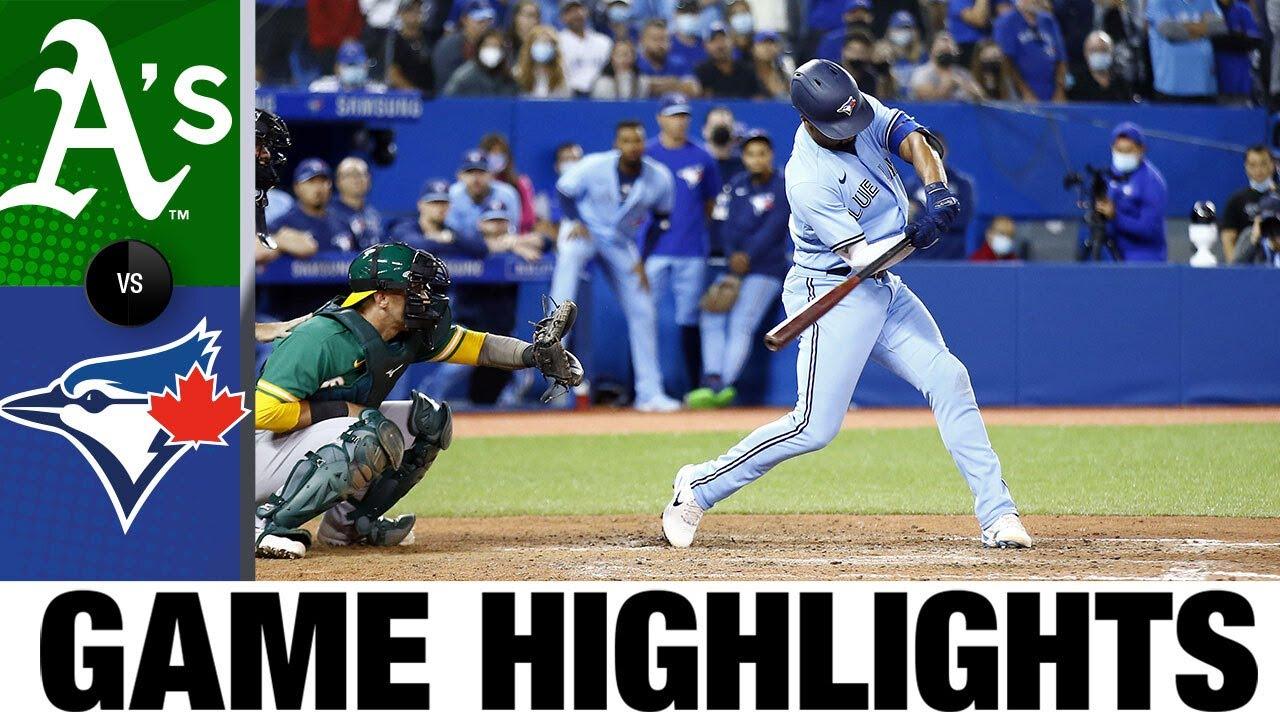 Download Athletics vs. Blue Jays Game Highlights (9/3/21) | MLB Highlights