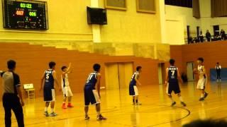 2015-01-20 慈幼中學學界籃球四強 vs勞校  第一節
