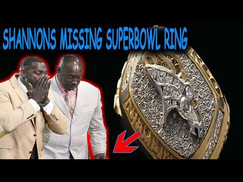 What Happened to Shannon Sharpe's 1st Super Bowl Ring?