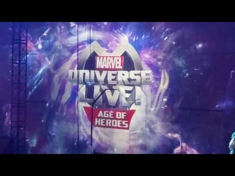 Marvel Universe Live!  Age of Heroes [ FULL SHOW ]