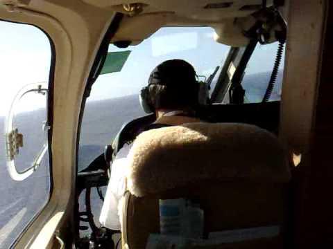 Landing On Petrojarl