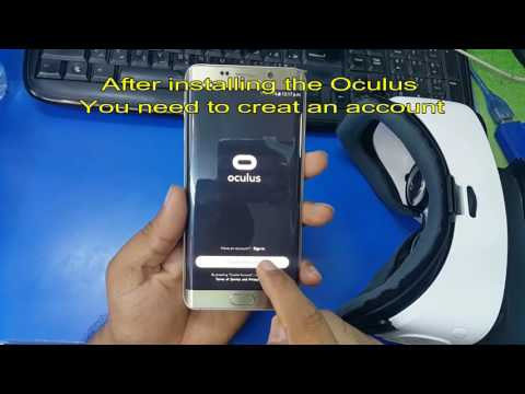 Samsung Gear VR SETUP & REVIEW with Galaxy and how to creat account of o...