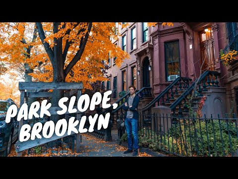 Exploring and Eating in Park Slope, Brooklyn. The Most Beautiful NYC Fall Neighborhood!