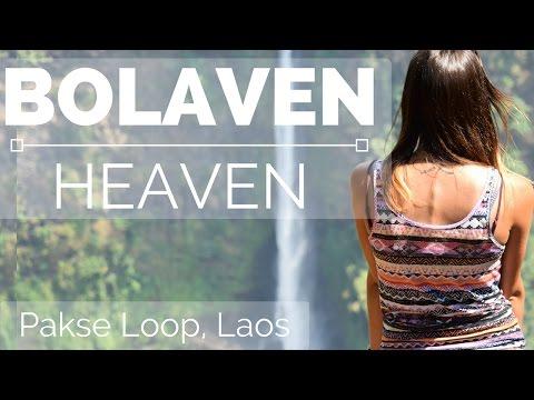 Pakse Loop Waterfalls - HEAVEN ON EARTH! ✔️ Laos Vlog