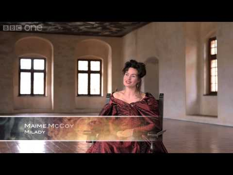 Maimie McCoy discusses the merciless Milady   The Musketeers   BBC One