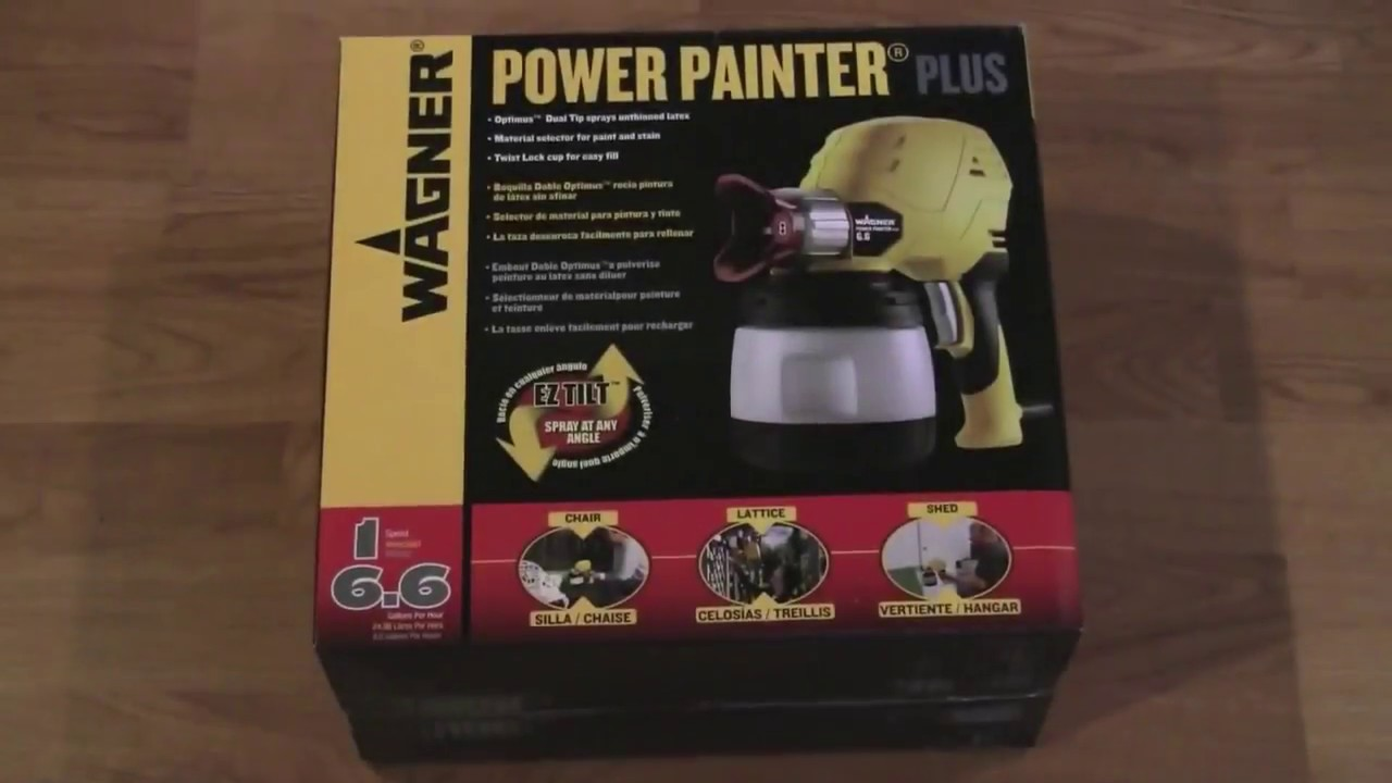Wagner Power Painter Pro - Amazing Results without Breaking
