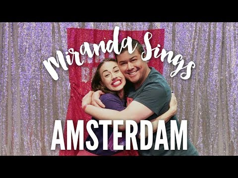 MIRANDA SINGS IN AMSTERDAM