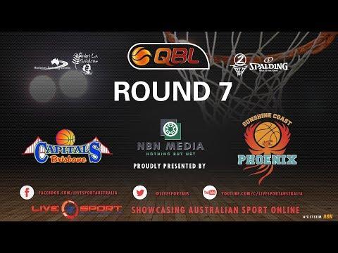 Sunshine Coast Phoenix vs Brisbane Capitals Women's QBL 2017