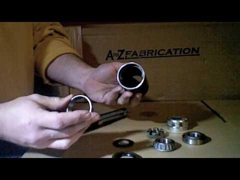 AtoZ Fabrication Heavy Duty Tire Carrier Hinge Kit
