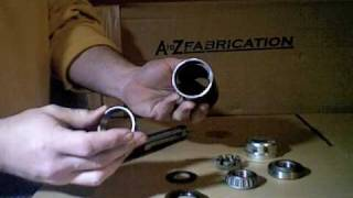 Atoz Fabrication Heavy Duty Tire Carrier Hinge Kit