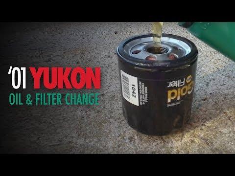 2001 GMC Yukon Oil Change   5.3L   Reset Change Engine Oil Message