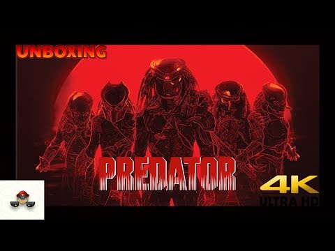 Unboxing Predator 3 Movie Collection 4K Blu-ray SteelBook Mp3