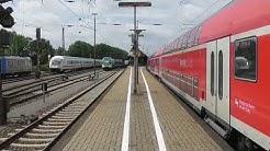 Osnabrück Oberer Bahnhof Chaosbetrieb am 23.Jun.2017