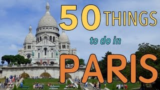 50 Things to do in Paris, France | Top Attractions Travel Guide(Earlier this summer we spent a whole 10 days in Paris and we decided we wanted to highlight some of the best attractions and activities around the city. Over the ..., 2015-07-27T05:00:02.000Z)