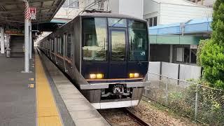 JR宝塚線321系 川西市池田駅発車