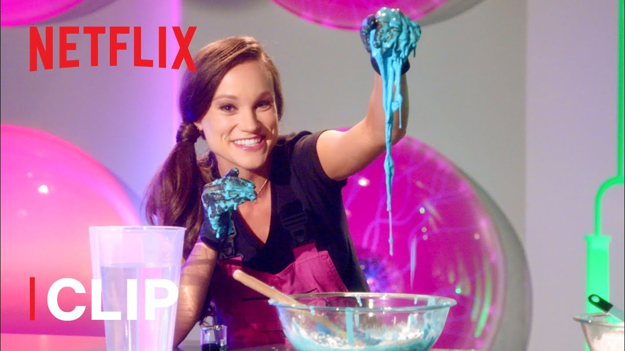 Download How to Make Oobleck Slime Science Experiment 💚 Emily's Wonder Lab | Netflix Jr