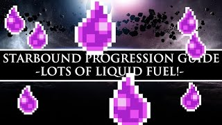 Starbound Guide | Tons of Easy Fuel!