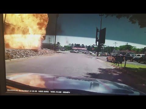 Don Action Jackson - Truck EXPLODES At A Burger King Drive-Thru