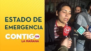 Vocera de la Cones denunció detención ilegal en medio de toque de queda  - Contigo en La Mañana