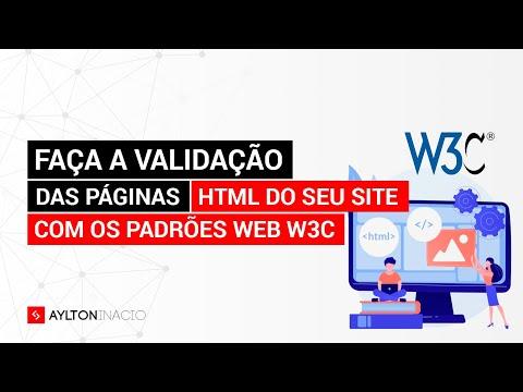 Como Validar Páginas HTML Pelo W3C