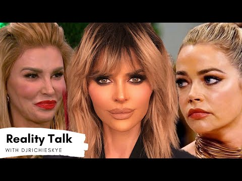 DENISE Richards QUITS RHOBH After BRANDI Drama! Lisa Rinna CALLS out Denise For Skipping Finale!