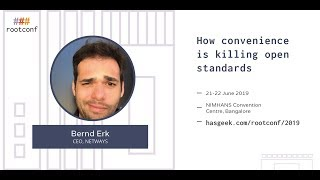 Keynote: How convenience Is killing open standards