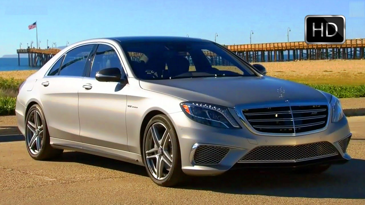 2015 Mercedes Benz S65 Amg V12 Biturbo Luxury Sports Sedan Test