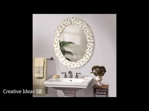 50 Mirror Design Creative Ideas 2016 - Amazing DIY Frame for Bathroom and Bedroom Part.1 -newest ho