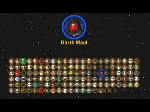 Lego Star Wars The Complete Saga All Characters Unlocked