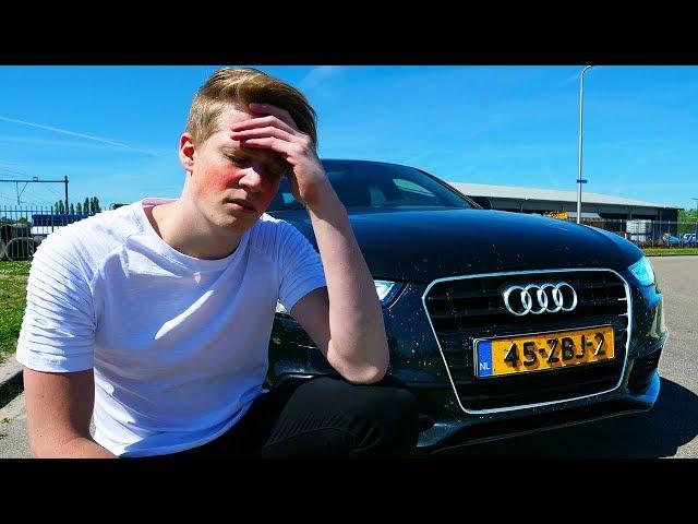 Pijnlijk afscheid van mijn auto nemen...