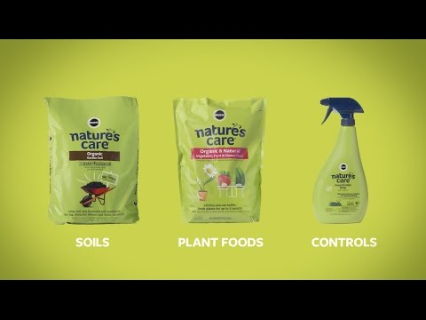 Nature's Care® Product Line for Organic Gardening