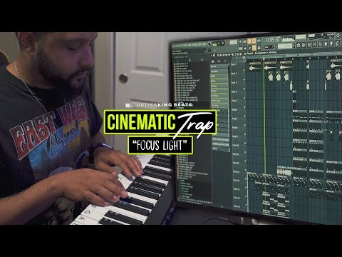 Curtiss King Making A CINEMATIC Trap Beat From Scratch on FL