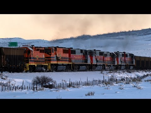 Last Utah Railway IPP Coal Train
