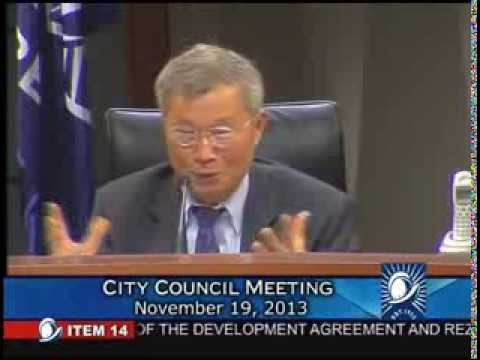 Cupertino City Council Meeting regarding Apple Inc. property (11/19/2013)