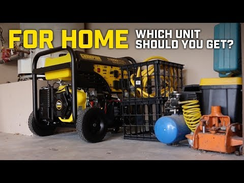 Generator Buying Guide: What's the best for home backup?