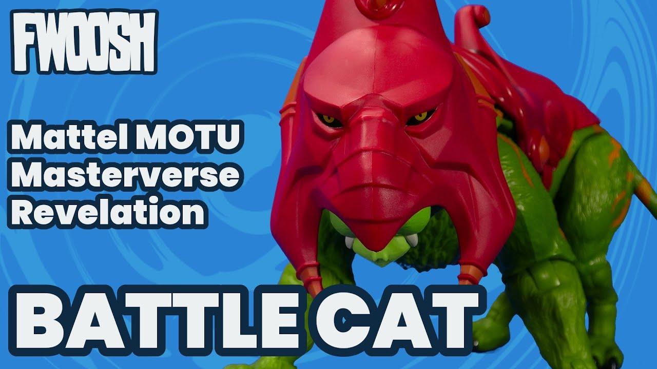 Masterverse Battle Cat Mattel Masters of the Universe Revelation MOTU Overview
