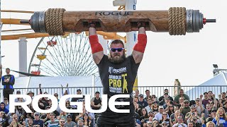 Slater Log Clean & Press - Full Live Stream | 2020 Arnold Pro Strongman USA Qualifier - Event 1