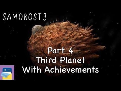 Samorost 3: iOS Walkthrough Guide Part 4 Third Planet + All Achievements! (by Amanita Design)