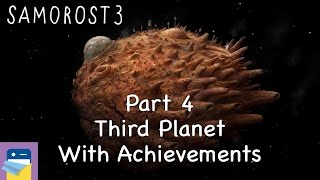 Samorost 3: iOS Walkthrough Guide Part 4 Third Planet + All Achievements! (by Amanita Design)