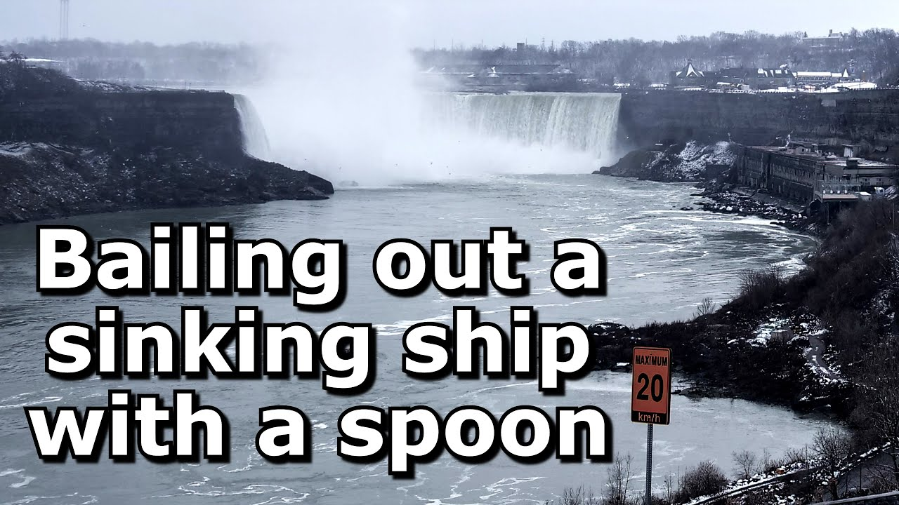 Bailing out a Sinking Ship with a Spoon HD (720p)