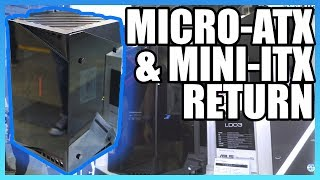 SilverStone Micro-ATX & Mini-ITX Cases | LD03, PS15 Computex 2018