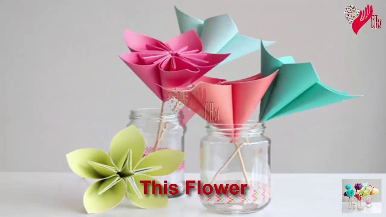 Making Flowers With Paper How To Make A Paper Daisy Paper Crafts Diy