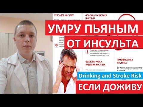 Алкогольный Инсульт | ТВОЙ ПРОЦЕНТ РИСКА | что делать | Drinking and Stroke Risk